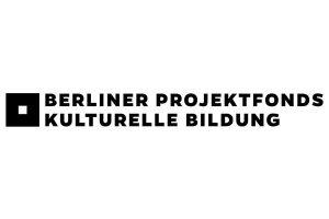 Purple Förderer 2019 Logo Berliner Projektfonds kulturelle Bildung