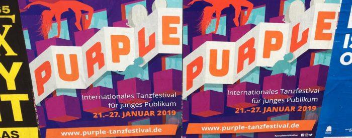 Purpletanzfestivalplakate 2019