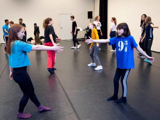 Beim Tanz-Workshop hatten die Jugendlichen viel Spaß. Foto: Marion Borriss