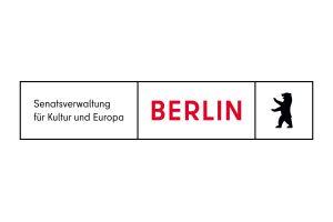 Förderer Logo Senatsverwaltung für Kultur und Europa Berlin